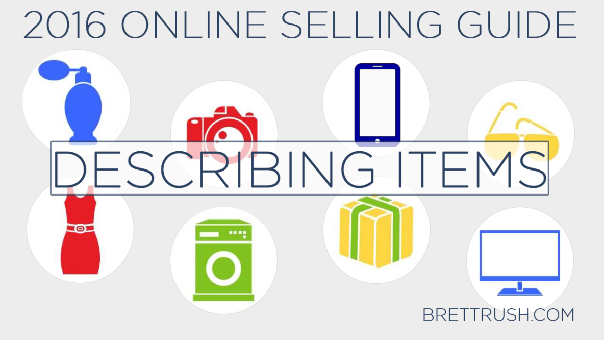 2016 Online Selling Guide - Describing
